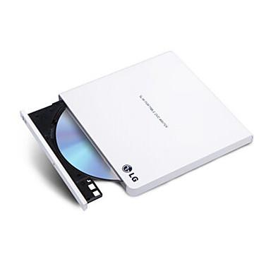 gp65nw60 lg 8 kertaa USB2.0 ulkoinen DVD-asema poltin Win8 ja mac käyttöjärjestelmä valkoinen