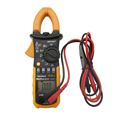 Buy HYELEC MS2008A Digital AC Clamp Meter Worklight Backlight equal Fluke Clamps Leakage Multimeter 2000 Counts