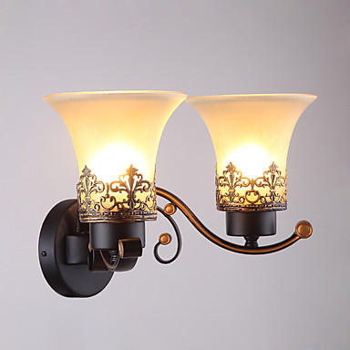 Modern/Contemporary Wall Lamps & Sconces For Glass Wall Light 110-120V 220-240V 40W