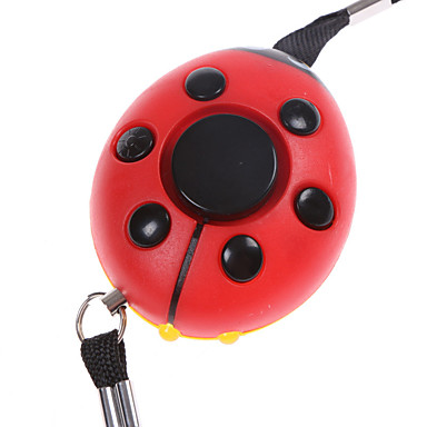 Personal Alarm Plastic Woman Self-Defense Emergency Lighting Alarm