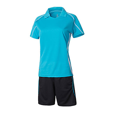 Naisten Jalkapallo College-pusero Mukava Kesä Yksinkertainen Polyesteri Tactel Jalkapallo