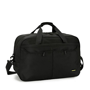 Men Bags All Seasons Oxford Cloth Travel Bag with for Casual Outdoor Black Red