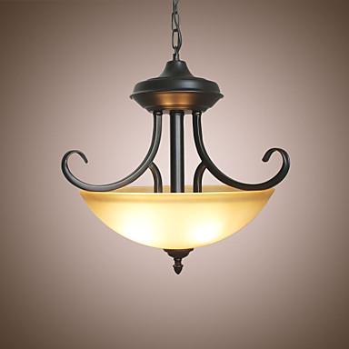 3-luz Invertido Luzes Pingente Luz Ambiente 110-120V / 220-240V Lâmpada Não Incluída / 5-10㎡ / E26 / E27