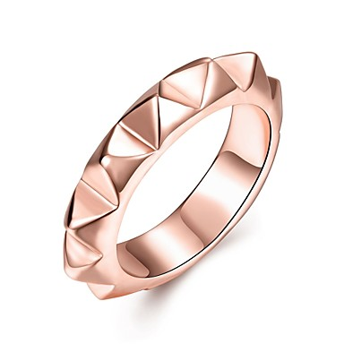 Dame Ring Smykker Personalisert Luksus Geometrisk Unikt design Klassisk Vintage Bohemsk Grunnleggende Hjerte Sirkel Venskap Enkel Stil