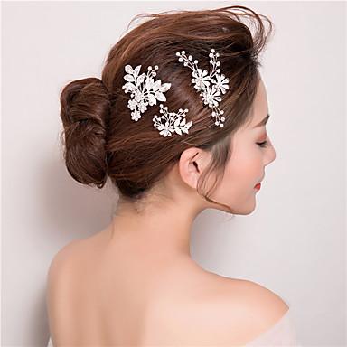 Rhinestone hår kammer hårpinne headpiece klassisk feminin stil