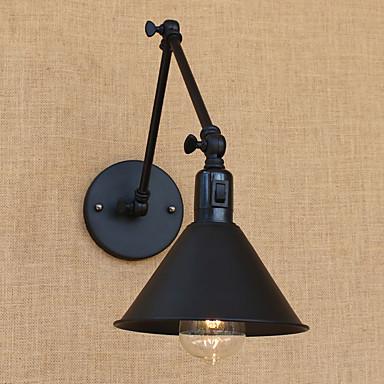 LED / Regional / Retro Swing Arm Lights Metal Luz de parede 110-120V / 220-240V 60W