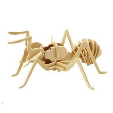 Robotime 3D építőjátékok Fejtörő Wood Model Oroszlán DIY Fa Gyermek Uniszex Ajándék