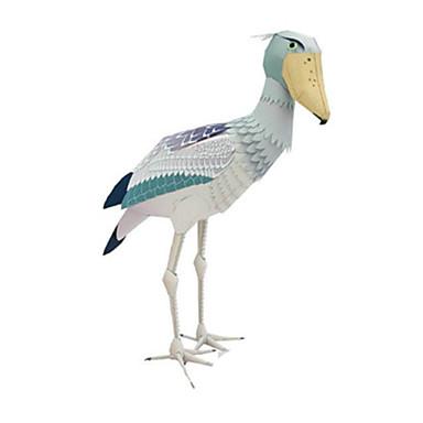 Quebra-Cabeças 3D Maquetes de Papel Artesanato de Papel Brinquedos de Montar Quadrada Pássaro 3D Animais Simulação Faça Você Mesmo Cartão