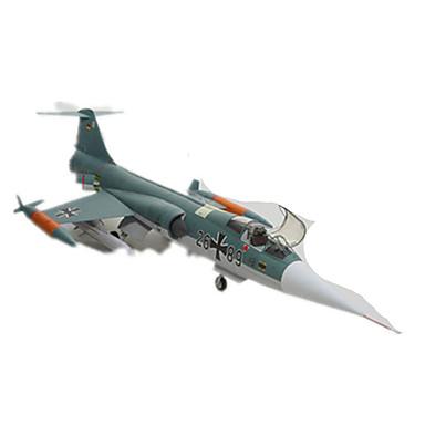 Quebra-Cabeças 3D Maquetes de Papel Brinquedos de Montar Quadrada Aeronave Lutador Cartão de Papel Duro Para Meninos Unisexo Dom