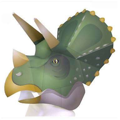 voordelige 3D-puzzels-Halloweenmaskers Dierenmasker Papierkunst HardKaart Paper Klassiek Dieren DHZ Horrorthema Volwassenen Unisex