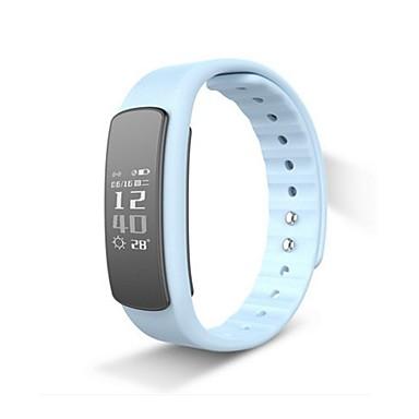 Intelligens karkötő I6 HR for iOS / Android Érintőképernyő / Szívritmus monitorizálás / Vízálló Lépésszámláló / Testmozgásfigyelő / Alvás nyomkövető / Ébresztőóra / Elégetett kalória / Lépésszámlálók