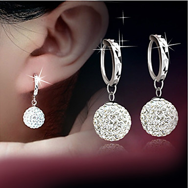 Women's Drop Earrings - Silver Plated Drop Fashion Silver For Wedding Party Daily