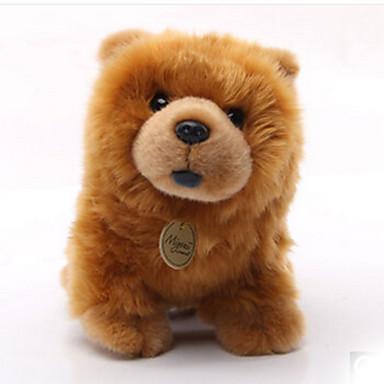 voordelige Knuffels & Pluche dieren-Honden Knuffels & Pluche dieren Handgemaakt levensecht Simulatie Pluche stof Speeltjes Geschenk