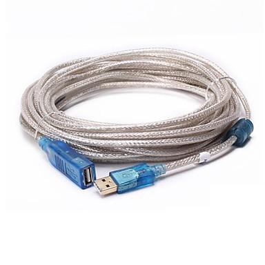 USB 2.0 Verlängerungskabel, USB 2.0 to USB 2.0 Verlängerungskabel Male - Female 20.0m (60ft)