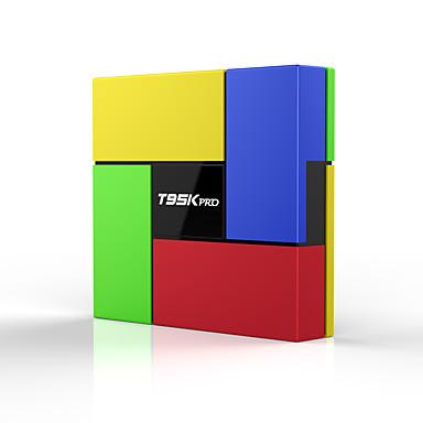 T95K PRO TV Box / Műholdas televízió vevő Android7.1.1 TV Box / Műholdas televízió vevő Amlogic S912 3GB RAM 32GB ROM Nyolcmagos