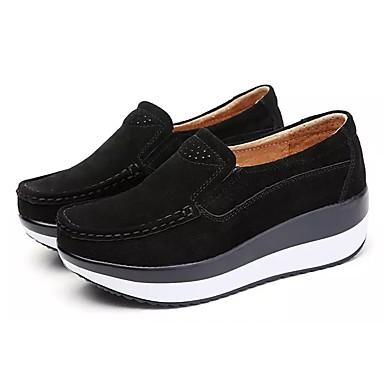 Férfi cipő PU Tavasz / Ősz Kényelmes Papucsok & Balerinacipők Swing cipők Szürke / Piros / Kék