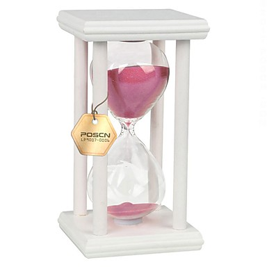 Hourglass Hourglass Wood Glass Unisex Gift