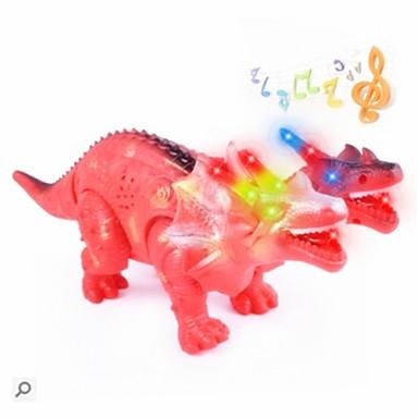 Állatok cselekvési számok Modeli i makete Fejlesztő játék Dinoszaurus Állatok Gyaloglás tettetés Elektromos Menő Műanyagok Fiú Gyermek