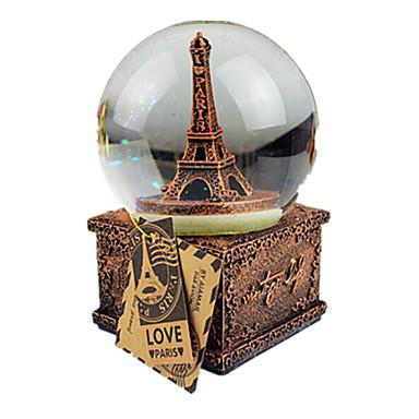 كرات الصندوق الموسيقي سنو غلوب برج كلاسيكي للأطفال بالغين أطفال للبالغين هدية للجنسين