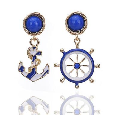 Női Bohém Függők - Vintage / Bohém Kék Fülbevaló Kompatibilitás Ajándék / Napi / Hétköznapi