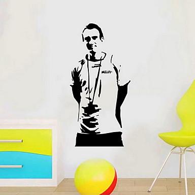 Freizeit Wand-Sticker Flugzeug-Wand Sticker Dekorative Wand Sticker Stoff Haus Dekoration Wandtattoo