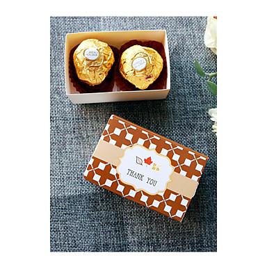 Quader Kartonpapier Geschenke Halter Mit Geschenkboxen Geschenktaschen Süßigkeiten Gläser und Flaschen Kuchenverpackung und Boxen
