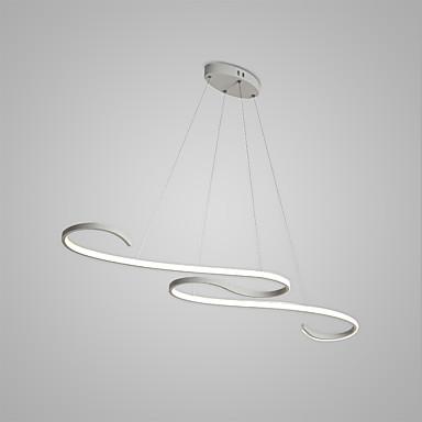 Vonalizzó Függőlámpák Háttérfény - Matt, Az izzó tartozék, Állítható, 110-120 V / 220-240 V, Meleg fehér / Hideg fehér, LED fényforrás
