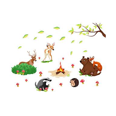 لواصق حائط مزخرفة - لواصق حائط الطائرة مناظر طبيعية / حيوانات / أزياء غرفة الجلوس / غرفة النوم / دورة المياه