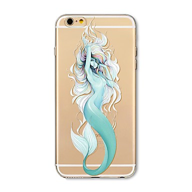 Case For Apple iPhone X / iPhone 8 Plus Transparent / Pattern Back Cover Sexy Lady / Animal / Cartoon Soft TPU for iPhone X / iPhone 8 Plus / iPhone 8