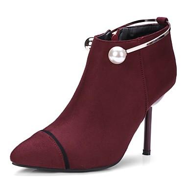 Damen Schuhe maßgeschneiderte Werkstoffe Nubukleder Herbst Winter Leuchtende Sohlen Springerstiefel Stiefeletten Modische Stiefel Pumps