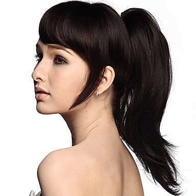 Ponytails / Hair Piece Synthetic Hair Hair Piece Hair Extension Natural Wave