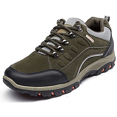 Men's Fleece Spring / Fall Comfort Athletic Shoes Black / Gray / Army Green