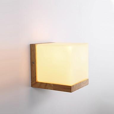 Einfach LED Landhaus Stil Neuheit Wandlampen Für Holz/Bambus Wandleuchte 220v 5W