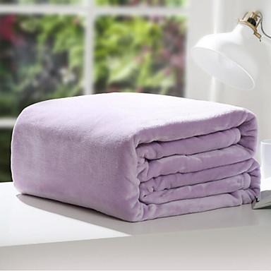 Super Soft, Nyomtatott Egyszínű Poliészter takarók / Flanel