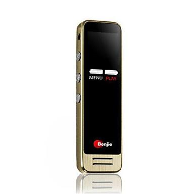 Újratölthető Li-ion akkumulátor Beépített hangszóró 3,5 mm Jack dugó Támogatás 8 GB