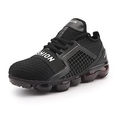 Férfi cipő Mikroszálas Neoprén Tél Ősz Kényelmes Sportcipők Futócipő Fűző mert Sport Hétköznapi Szabadtéri Fehér Fekete Piros