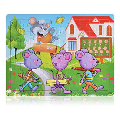 Holzpuzzle Steckpuzzles Maus Spaß Klassisch 6 Jahre alt und höher