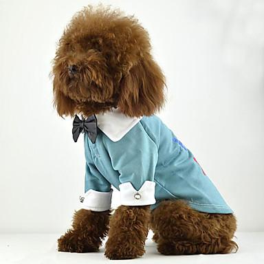 Hund T-shirt Hundekleidung Lässig/Alltäglich Buchstabe & Nummer Orange Purpur Blau Rosa Kostüm Für Haustiere