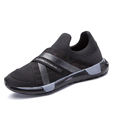 Férfi cipő Bőrutánzat Tél Ősz Kényelmes Tornacipők Fűző mert Sport Fekete Szürke