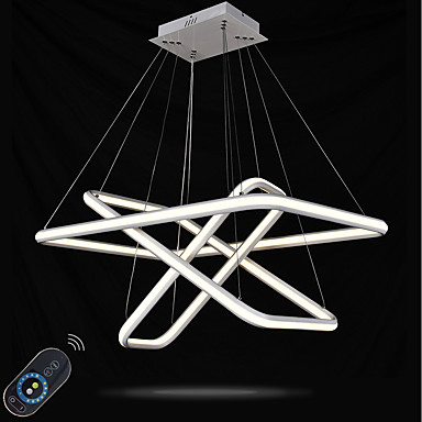 Divatos és modern Függőlámpák Háttérfény - Többszínű Állítható Tompítható, 110-120 V 220-240 V, Távirányítóval szabályozható, LED