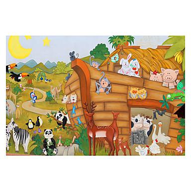 Holzpuzzle Schiff Hirsch Anime Zeichentrick Unisex Geschenk