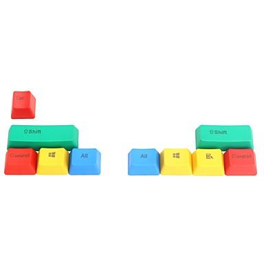 9 Schlüssel pbt bunte keycap Satz für mechanische Tastatur oben gedruckt