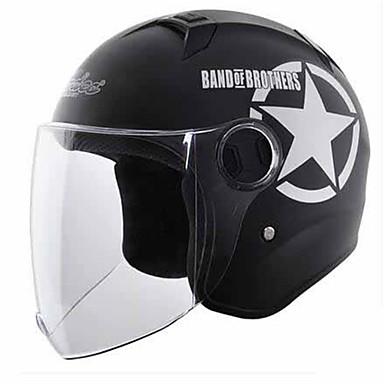 Halber Helm Formschluss Kompakt Luftdurchlässig Beste Qualität Sport ABS Motorradhelme