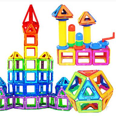 Mágneses blokk / Játékautók / Építőkockák Ház Mágneses Fiú Ajándék