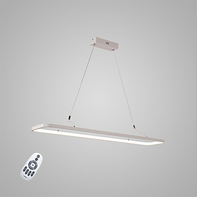 Pendant Light Ambient Light - Matte, Bulb Included, Adjustable, 110-120V / 220-240V, Warm White / Cold White / Dimmable With Remote