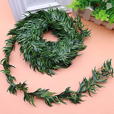 1 Ast Polyester Pflanzen Wand-Blumen Künstliche Blumen