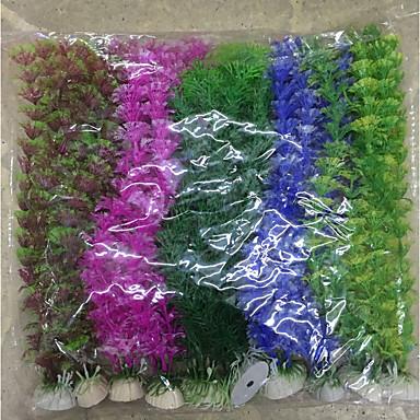 billige Tilbehør til fisk og akvarium-Akvarium Dekorasjon Vannplante
