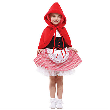 Märchen Cosplay Einteilig/Kleid Cosplay Kostüme Maskerade Mädchen Halloween Karneval Kindertag Fest/Feiertage Halloween Kostüme Andere