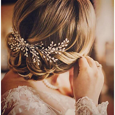 Imitation Pearl Hair Combs / Hair Tool with 1 Wedding / Special Occasion / Birthday Headpiece
