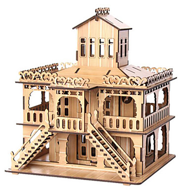 3D - Puzzle Holzpuzzle Berühmte Gebäude Haus Architektur 3D Holz Naturholz 6 Jahre alt und höher